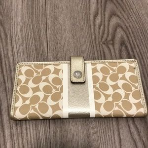 Authentic Coach Credit Card Wallet